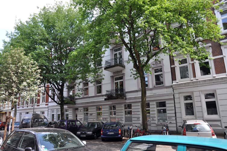 Fischersallee In Hamburg Altona